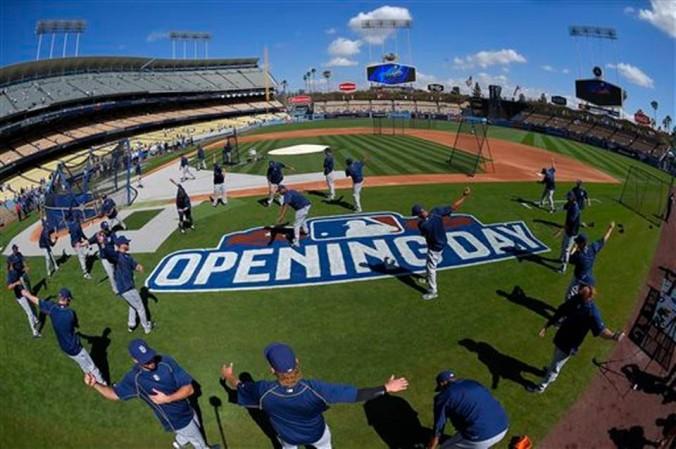 288Padres Dodgers Baseball